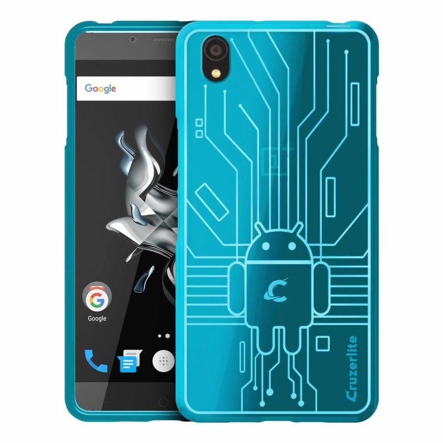 Bugdroid Case Teal OnePlus X