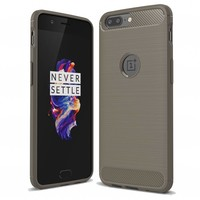Carbon Fiber Design Case Gray OnePlus 5