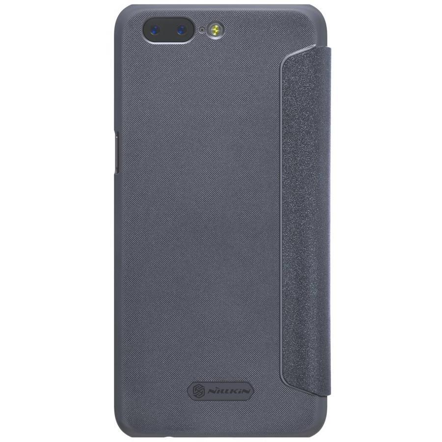 Sparkle Flip Case Zwart OnePlus 5