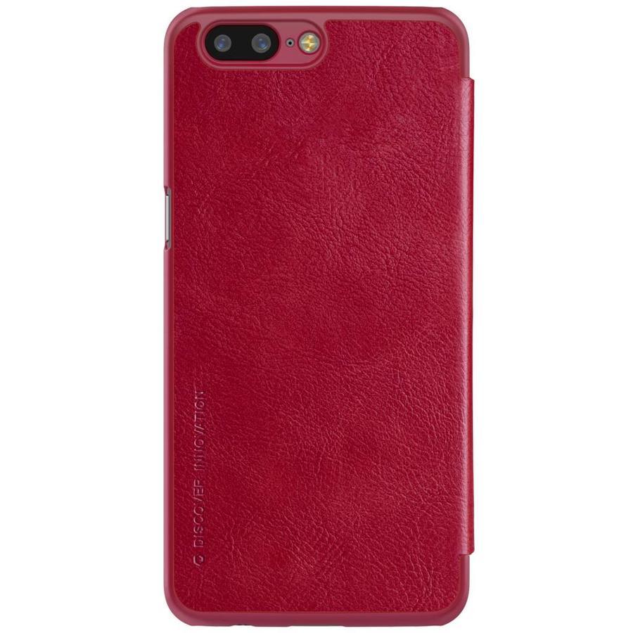 Qin Flip Case Red OnePlus 5