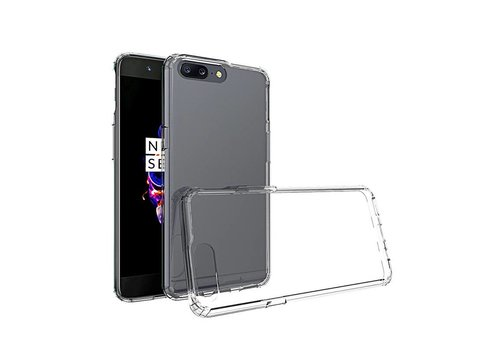 OPPRO TPU Bumper Case Transparant OnePlus 5