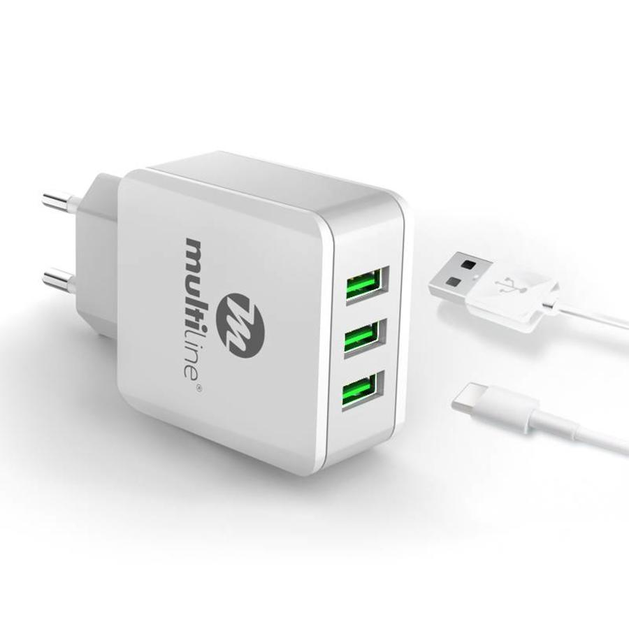 3-Port USB Charger 3.1A