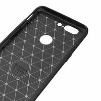 Carbon Fiber Design Case Gray OnePlus 5T