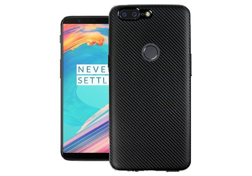 OPPRO Carbon Metallic Case Black OnePlus 5T