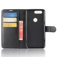Wallet Flip Case Black OnePlus 5T