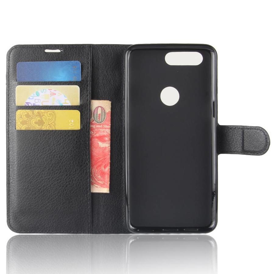 Wallet Flip Case Zwart OnePlus 5T