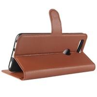 Wallet Flip Case Brown OnePlus 5T