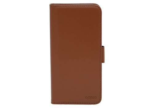 OPPRO Wallet Flip Case Brown OnePlus 5