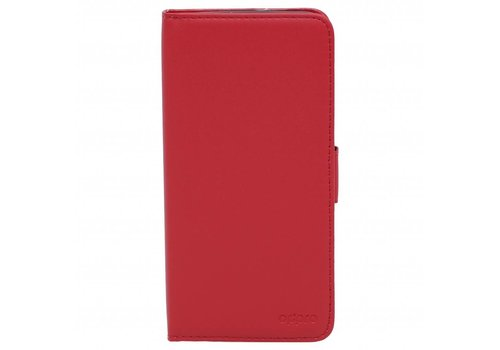 OPPRO Wallet Flip Case Red OnePlus 5