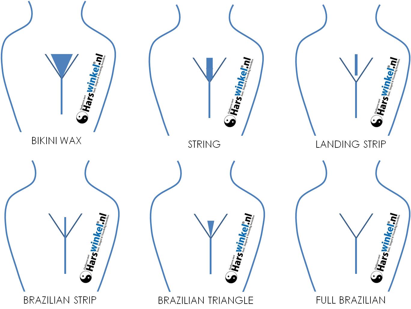 waxing shapes
