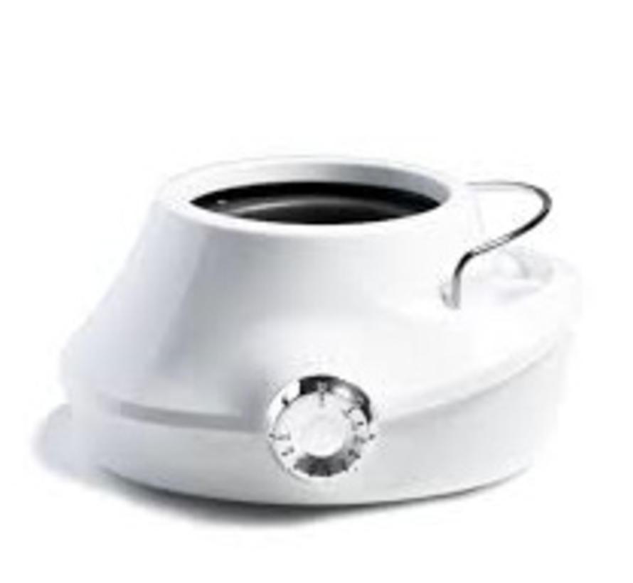Harsverwarmer Luna White 800