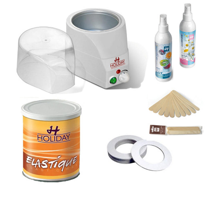 Hot Elastic Wax Startkit 3