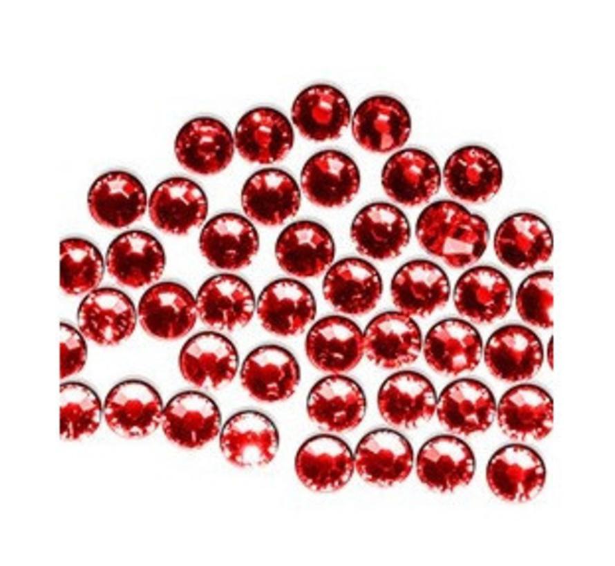 Swarovski-kristallen: Red, voor nageldecoratie