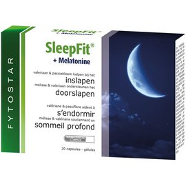 FYTOSTAR SLEEPFIT + MELATONINE (20 CAPS)