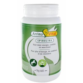 ANIMAVITAL SPIRULINA 500 MG TABLETTEN (1 KG)