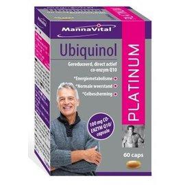 MANNAVITAL UBIQUINOL Q10 PLATINUM (60 CAPS)