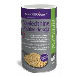 MANNAVITAL SOJALECITHINE GRANULAAT 98 % GMO-VRIJ ID CERT. PLATINUM (500 G)