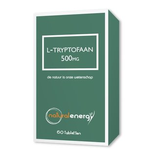 NATURAL ENERGY L-TRYPTOPHANE 500 MG (60 CAPS)