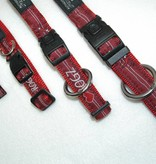 Rogz Rogz Red Heart halsband met riem