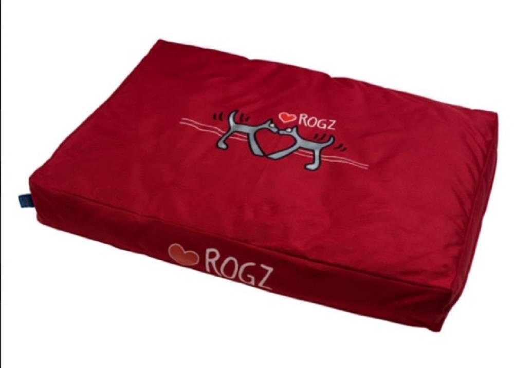 Rogz Red Heart kussen voor in de hondenmand