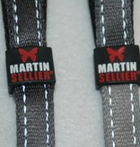 Martin Sellier Grijs reflecterende halsband