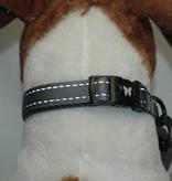 Grijs reflecterende halsband