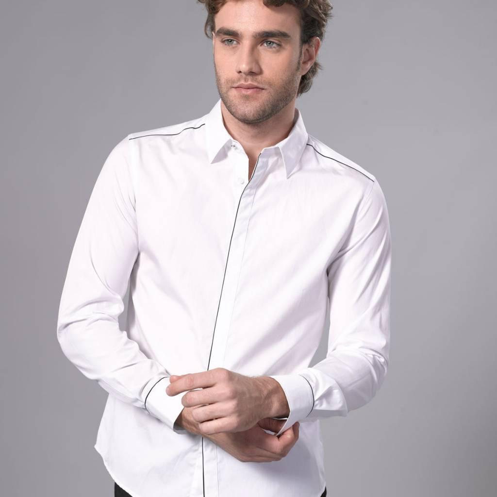 Arvind Men's Shirt White