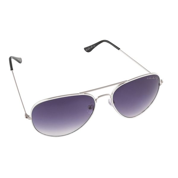 Aviator Coloured Silver Purple
