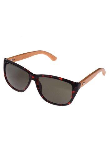 Half Bamboo Sunglasses (panther)