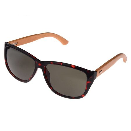 Half Bamboo Sunglasses (panther)