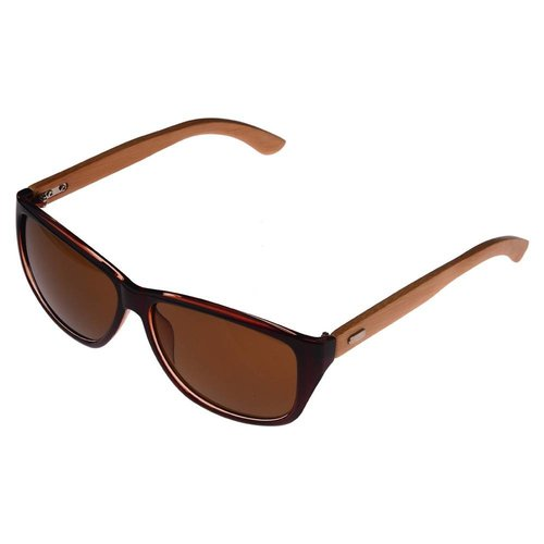 Half Bamboo Sunglasses (brown)