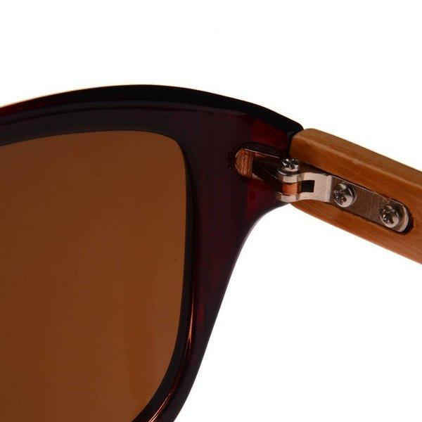 Half Bamboo Sunglasses (brown)