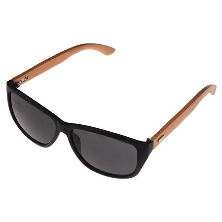 Half Bamboo Sunglasses (matt black)