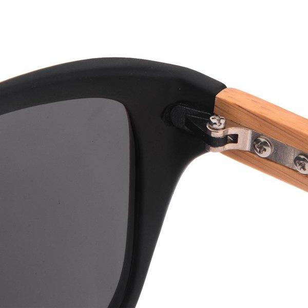 Half Bamboo Sunglasses (matt black)