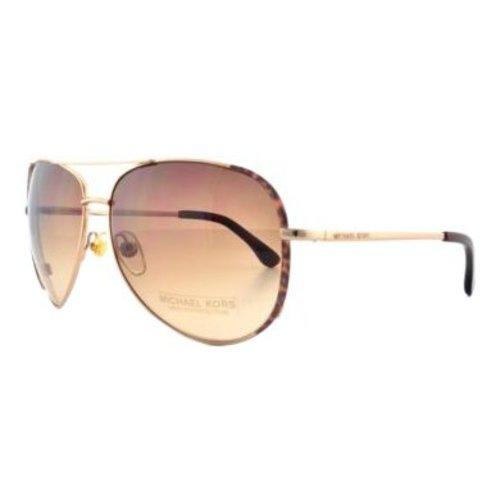 Michael Kors SICILY Aviator Zonnebril Rose Gold M2045S