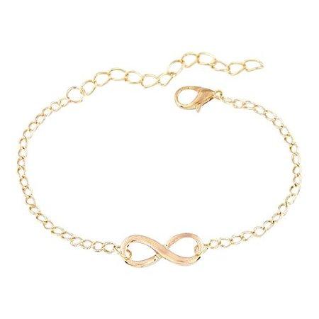 Infinity armbandje goud