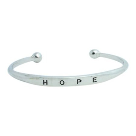 Hope bangle zilver