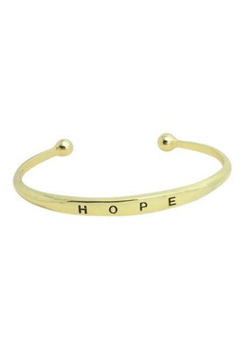 Hope bangle goud