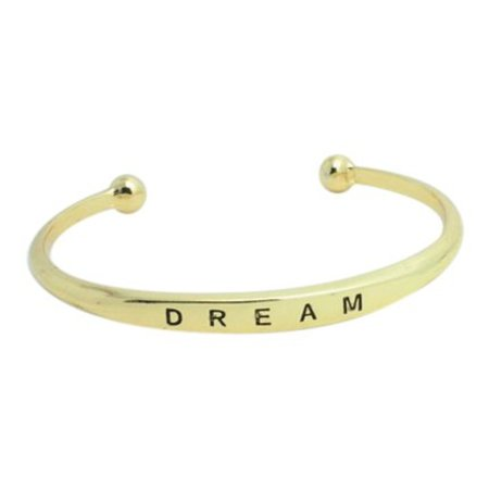 Dream bangle goud