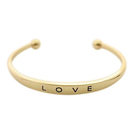 Love bangle goud