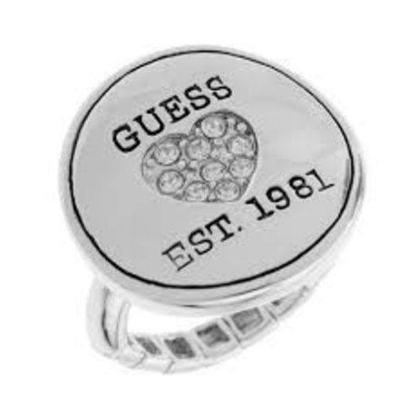 GUESS Zilveren ring UBR81116