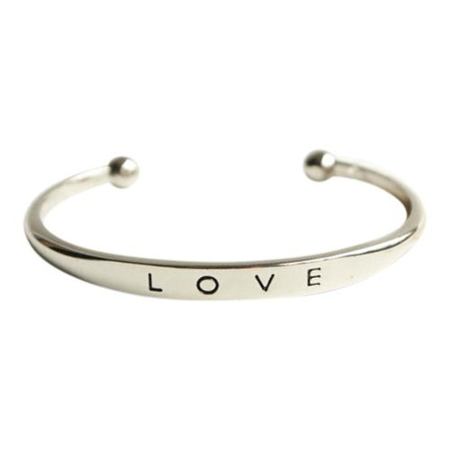 Love bangle zilver