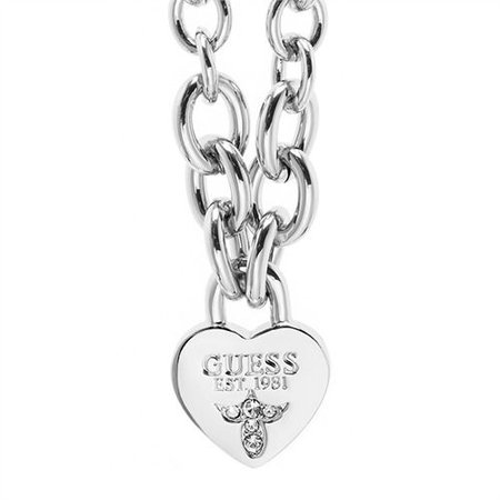 GUESS True love ketting zilver UBN21577