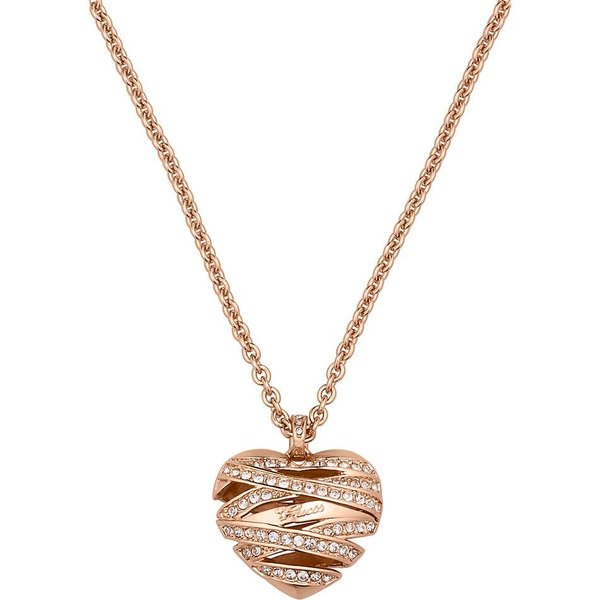 Wrapped with love rosé goud ketting UBN21620