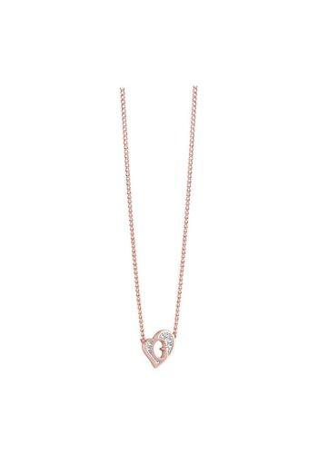 GUESS G heart rosé goud ketting UBN71538