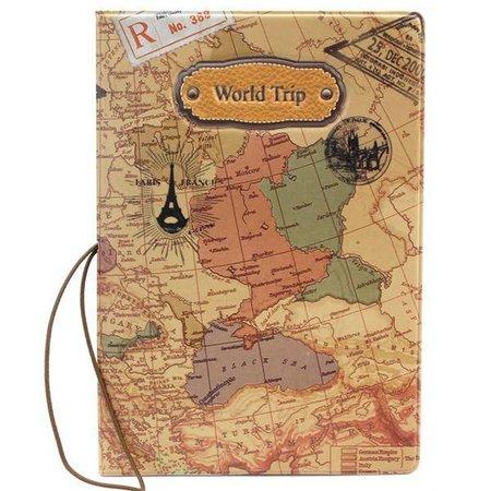 World Trip Paspoorthoesje