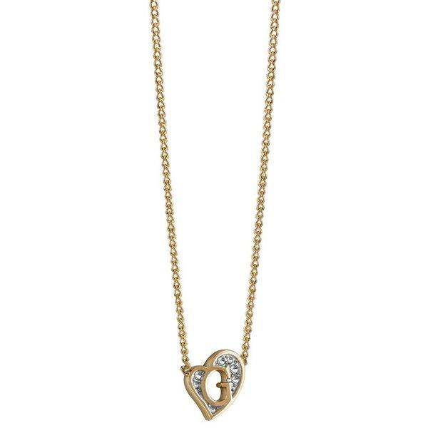 G heart gouden ketting UBN71537