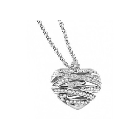 GUESS Wrapped with love zilver ketting UBN21618