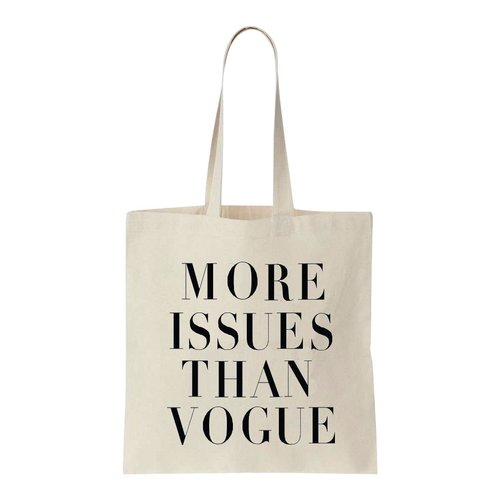 Canvas tas more issues than vogue