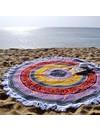Mosaic Multicolor Summer Beach Roundie